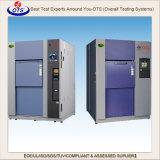 Câmara do teste de choque térmico (equipamento de teste quente e frio do impato)