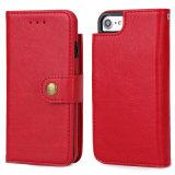 iPhone 7 аргументы за бумажника Split типа незримое магнитное добавочное