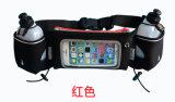 Wb--Sac courant de support de téléphone de taille de sport en plein air avec des bouteilles d'eau