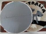 Weiches bequemes Büro-Stuhl-Schaf-Haut-Kissen-Tier-Muster