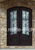 [إكسيمن] أسد [ورووغت يرون] زجاجيّة باب ملحقة لأنّ منزل