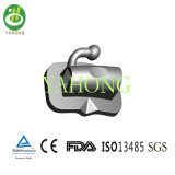 Molar orthodontique Single Buccla Tubes avec du CE, OIN, FDA