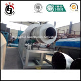Horno rotatorio del horno rotatorio para el carbón activado