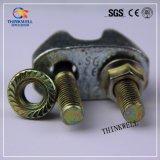 Покрынный цинком зажим веревочки провода отливки томительноего-тягуч утюга DIN741