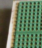 Противобактериологический блокируя резиновый половой коврик, резиновый циновка дренажа