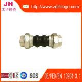 Amarelo DIN2502 Pn16 da flange do aço de carbono e junção de borracha
