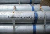 El uso de la construcción DN25 de alta calidad de tubo galvanizado