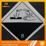 튼튼한 안전 경고 표시 유독한 경고 레벨