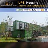 Подгонянная роскошная гостиница контейнера стальной структуры изображения конструкции совмещенная домом