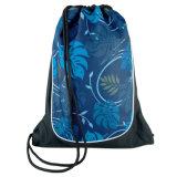 Изготовленный на заказ дешевый полиэфир рекламируя Backpack Drawstring