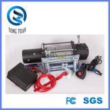 Guincho elétrico sintético 10000lb da corda/corda de fio para a recuperação off-Road 12V (DH10000F/DH10000F-S)