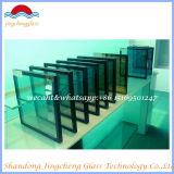 Baixo-e vidro de isolamento de 5+6A+5mm para a parede do indicador/cortina