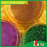 Heiße Verkaufs-ungiftige Regenbogen-Serien-glänzendes Funkeln blättert mit niedrigem Preis ab