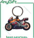 PVC Keyring de 3D Soft com Customized Shape e Logo