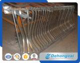 装飾的な粉の上塗を施してある現代錬鉄の塀(dhfence-18)
