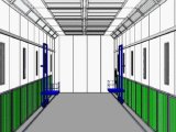 Large Spray Booth, Bus or Auto Painting Drying Room
