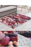 판매하는 열 비 길쌈하는 PVC 역행 지면 문 매트 40*60, 45*70, 50*80에 있는 인쇄