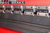 Freio da imprensa hidráulica do CNC Wc67y-100/2500 para a dobra da placa de metal