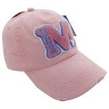 Form gewaschene Baseballmütze mit Nizza Firmenzeichen Gjwd1721