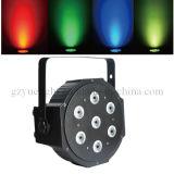 Etapa PAR de 7PCS 10W RGBW LED Mini PAR