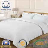 Tela do hotel 100%/a Home/hospital do algodão com a listra do cetim de 3cm