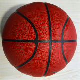 PU barata de Desgastar-Resistencia modificada para requisitos particulares baloncesto 8pieces de la calidad