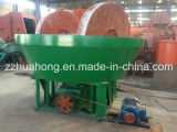 Due Rollers Wet Pan Mill per Gold Mining Plant