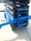 plate-forme mobile hydraulique de travail aérien de levage de ciseaux de 18m