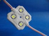 DV12 IP65 impermeabilizan 5050 4chips el módulo de la inyección LED