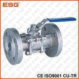 Válvula de esfera do aço inoxidável de Esg