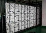 P6 옥외 임대료 발광 다이오드 표시 호리호리한 Alumium 내각