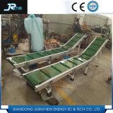 Transporte de correia do PVC do detetor de metais para industrial químico