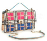 Nova moda Checkered Chain Bags Shouder Bag Designer Handbags (LDO-160972)