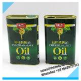 500ml опорожняют жестяную коробку металла стальную для упаковывая оливкового масла