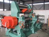 Máquina de borracha aberta da borracha do moinho de mistura do rolo Xk-400 dois