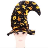 Chapéu Th009 da bruxa da cabeça do ângulo de Halloween