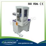 Plastikflaschen-hölzerne Tuch-Kabel CO2 Laser-Markierungs-Maschine