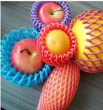 Flan tubulaire en mousse plastique en plastique coloré pour la protection des pommes