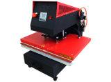 Machine pneumatique de presse de la chaleur de textile de station simple de Xy-042A