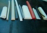 Banda del silicone, profilo del silicone, espulsione del silicone, cavo del silicone, guarnizione del silicone fatta con la gomma di silicone del commestibile senza odore