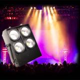 4*100W 고성능 LED 옥수수 속 곁눈 가리개 매트릭스 효력 경청자 빛