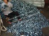Manicotto d'acciaio 60mm Q235 del puntello della vite di puntellamenti della cassaforma