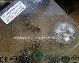 장식무늬가 든 유리 제품 피라미드 /Karatachi/ 실레지아 /Nashiji/Flora를 지우십시오