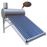 Chauffe-eau chaud thermique à énergie solaire de tube électronique pressurisé préchauffé de collecteur de bobine de cuivre