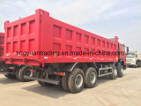 40 de Vrachtwagen van de Stortplaats van Tonners 8*4 HOWO met Lage Prijs