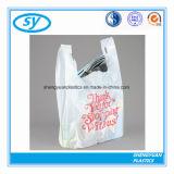 Sac à provisions en plastique de transporteur de traitement de gilet