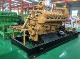 De gecombineerde Generator van het Biogas 200kw 300kw 400kw 500kw van de Elektrische centrale 10kw 50kw 100kw van het Biogas van de Mest van de Koe van de Hitte en van de Macht