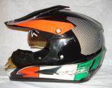 冷却ATVのオートバイのスクーターはからかう十字のヘルメット(HD169D)を