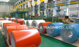 La hoja de acero galvanizada prepintada PPGI prepintó la línea continua bobina de la galvanización de la bobina de acero de la fábrica