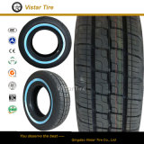 HandelsLight Truck Tire mit Whitewall (185R14, 195R14, 225/70R15C)